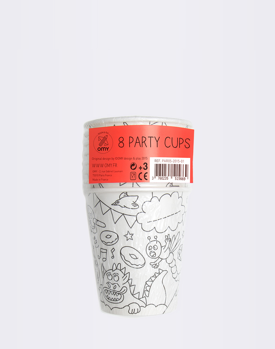OMY 8 Paper Cups
