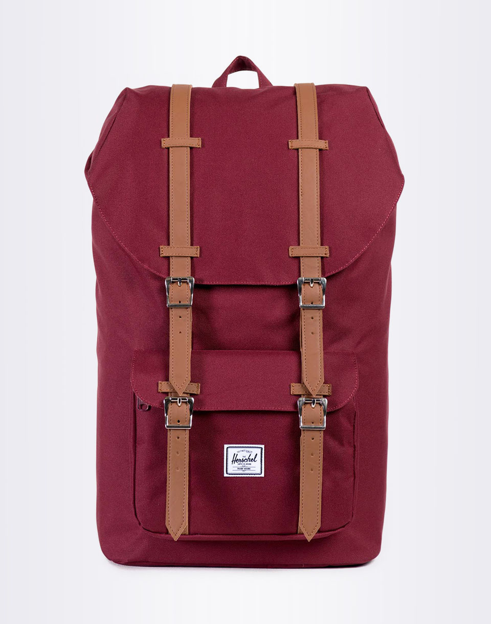 Herschel Supply Little America Windsor Wine Tan Synthetic Leather
