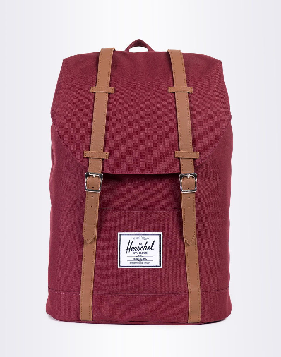 Herschel Supply Retreat Windsor Wine Tan Synthetic Leather
