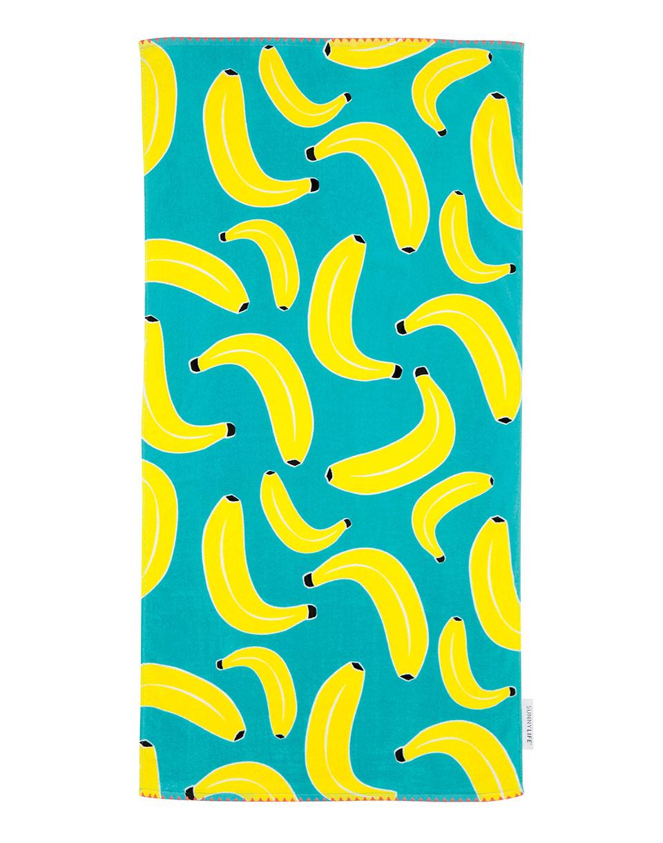 Cestování Sunnylife Kids Towel Cool Bananas SU1KIDBN