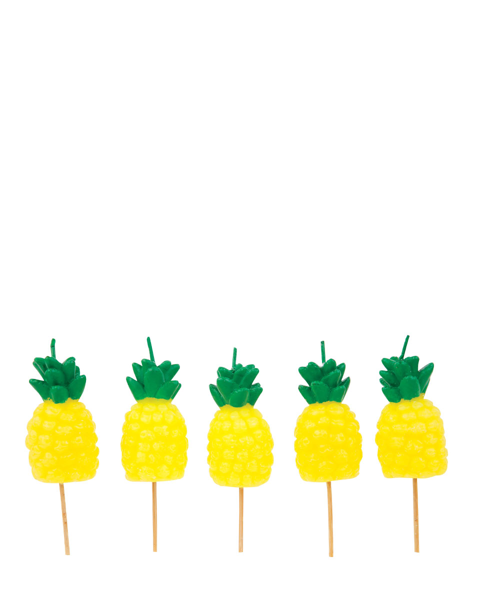 Sunnylife Pineapple Cake Candles SUGCAKPI