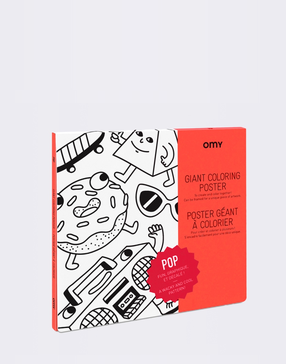 OMY Giant Coloring Poster   Pop