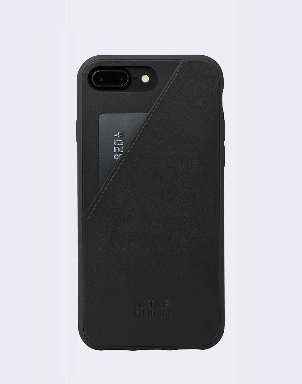 Native Union Clic Card iPhone 7  8  BLK BLK