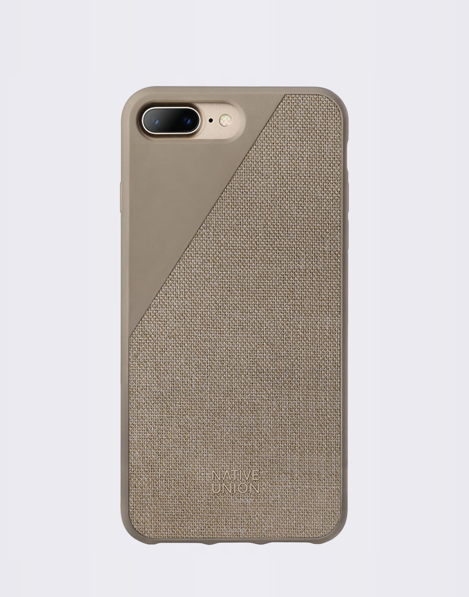 Native Union Clic Canvas iPhone 7  8  Taupe