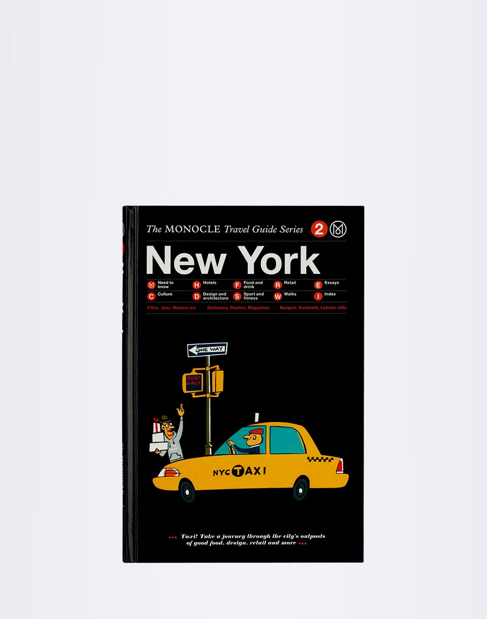 Knihy Gestalten New York: The Monocle Travel Guide Series