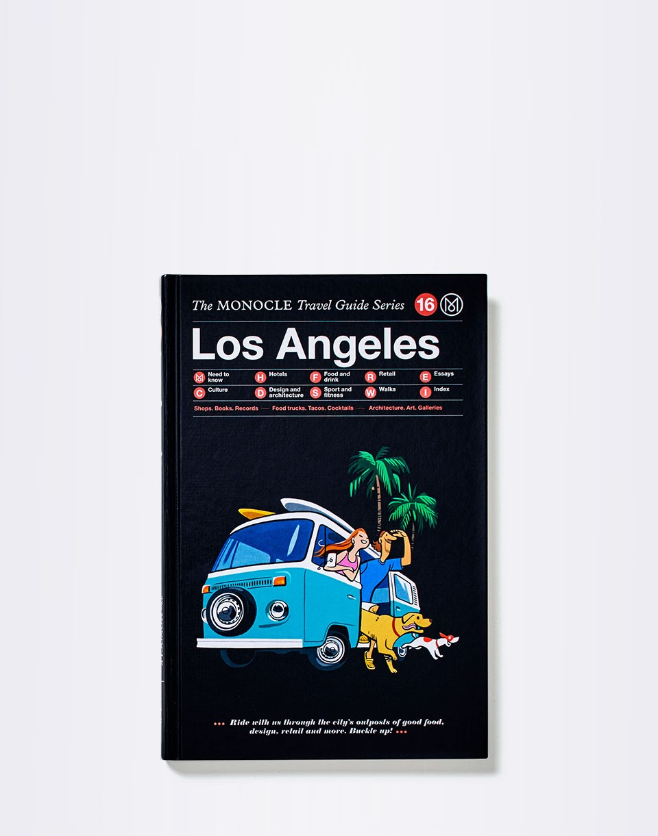 Knihy Gestalten Los Angeles: The Monocle Travel Guide Series + novinka