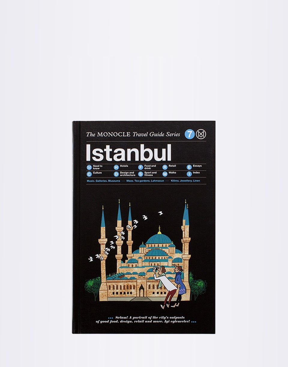 Knihy Gestalten Istanbul: The Monocle Travel Guide Series + novinka