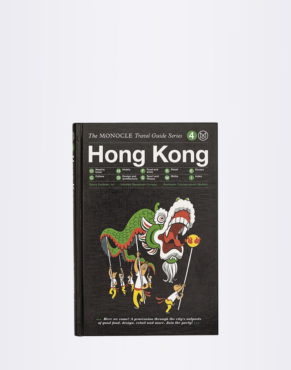 Knihy Gestalten Hong Kong: The Monocle Travel Guide Series + novinka