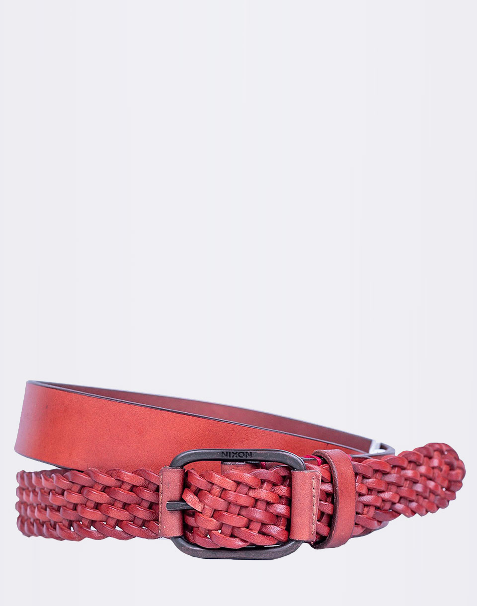 Pásek Nixon Twisted Belt Saddle XS/S