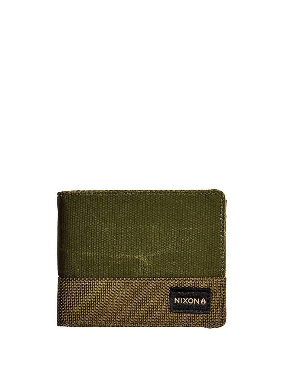 Peněženka Nixon Origami Arc Bi-Fold Olive