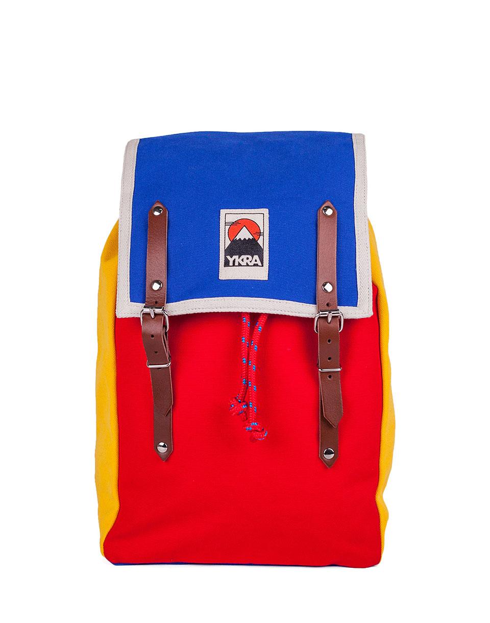 Batoh YKRA Matra Mini Blue - Red - Yellow + doprava zdarma