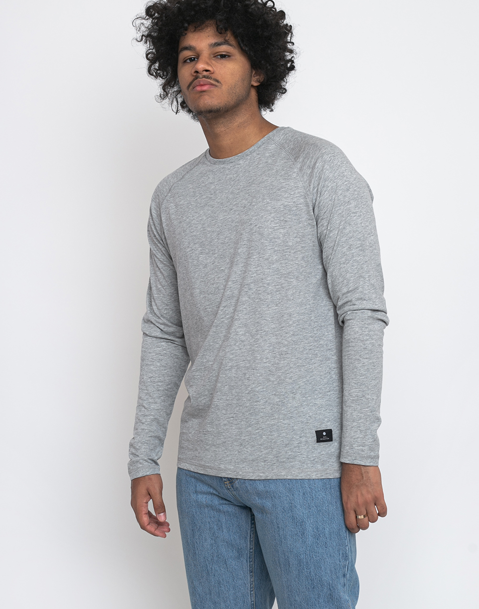 RVLT 1154 Long sleeve t shirt Grey mel XL