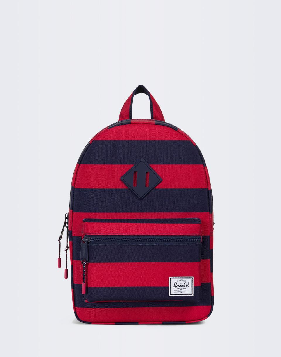 Herschel Supply Heritage Kids Peacoat/Red Stripe/Peacoat Rubber