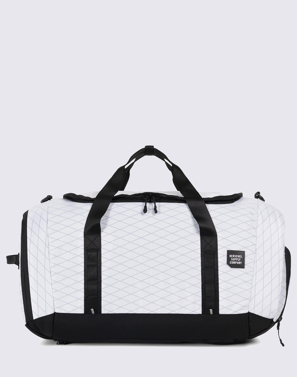 Herschel Supply Trail Gorge Large White   Black