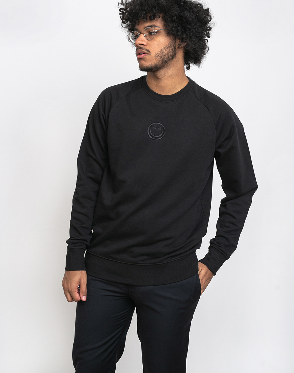Rotholz Smiley Sweater Black XL