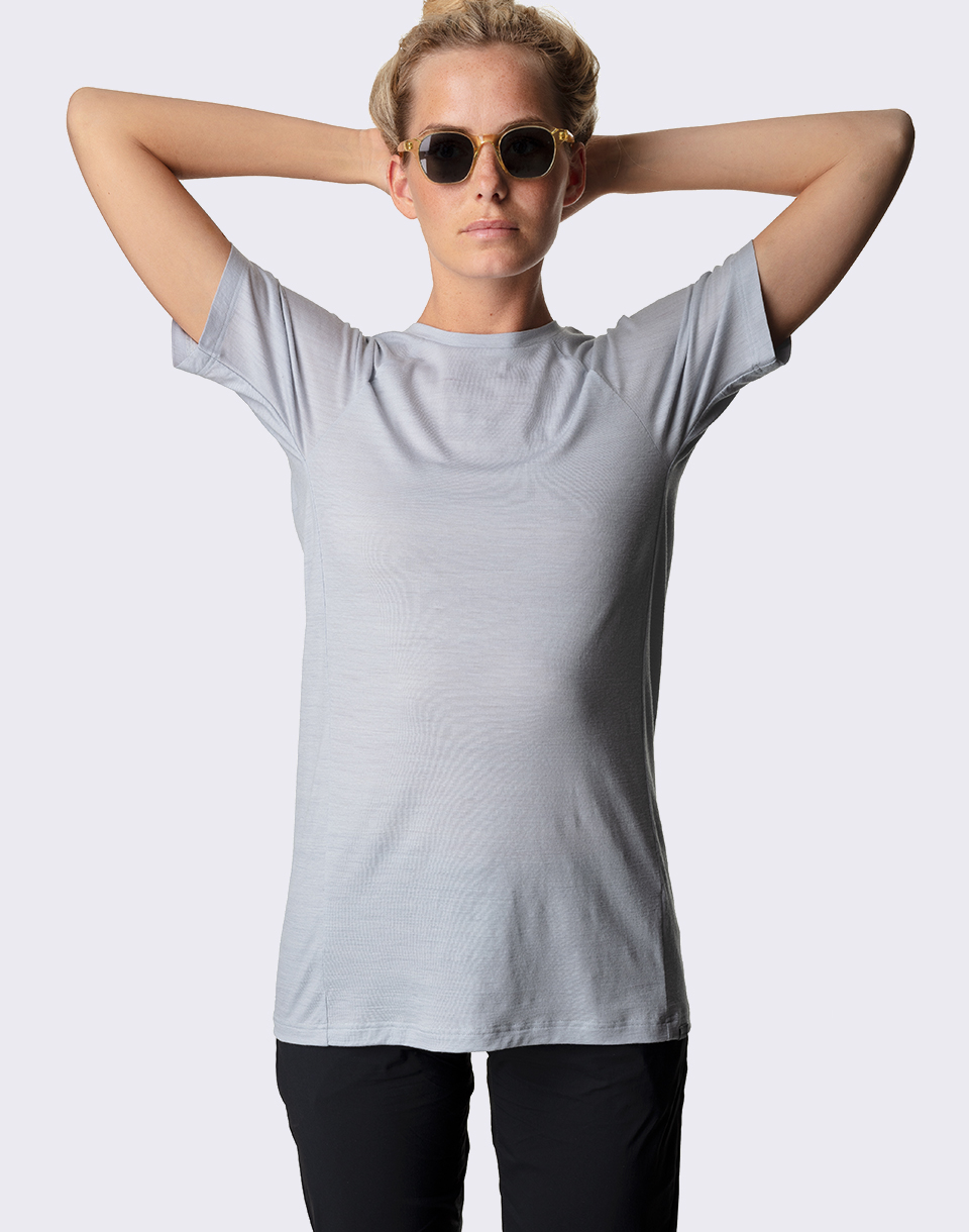 Houdini Sportswear W s Free Tee Ground Grey L