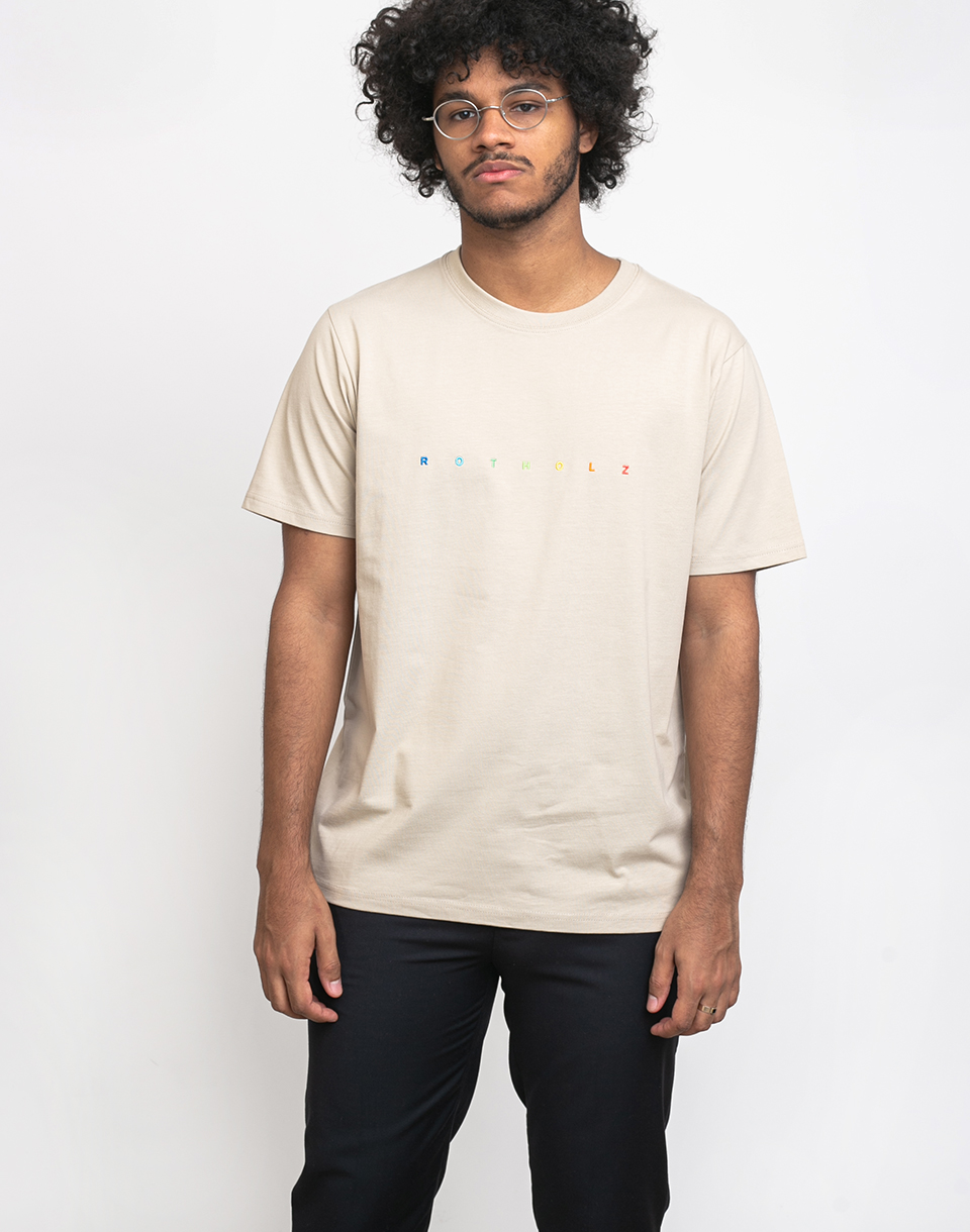 Rotholz Spacing T Shirt Sand XL