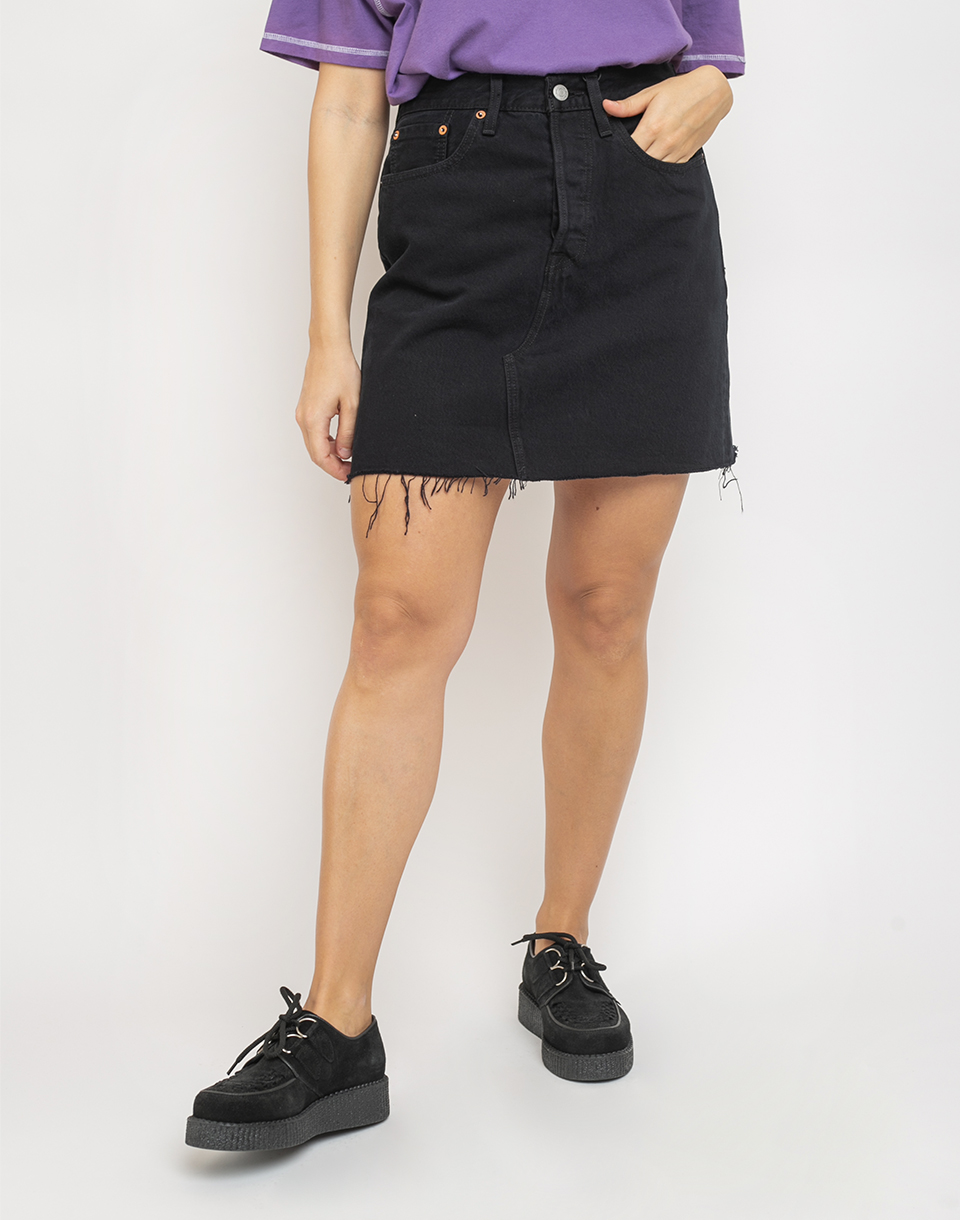 Levi s® Hr Decon Iconic Bf Skirt Black 29