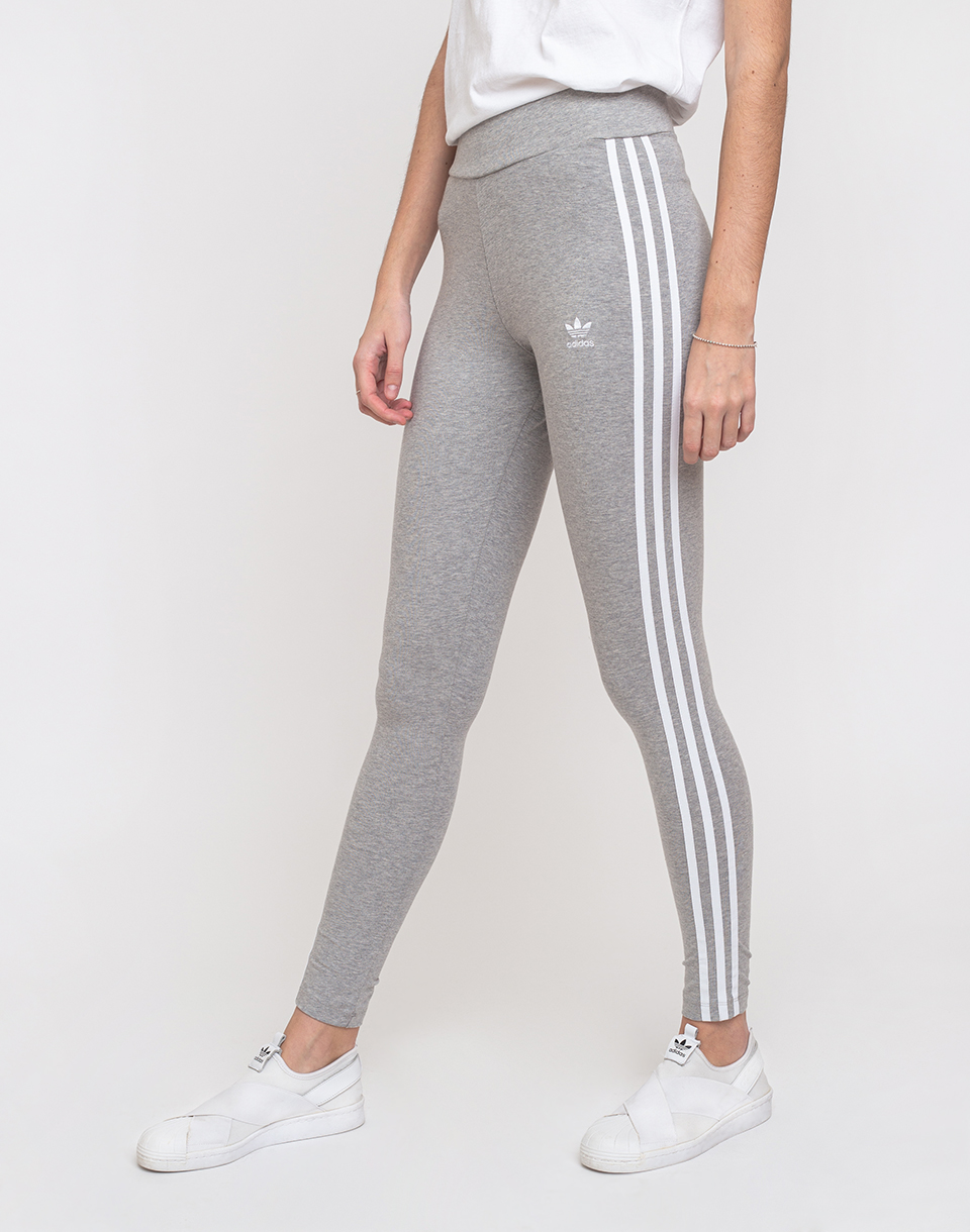 adidas Originals 3 Stripes Tight Medium Grey Heather White 34