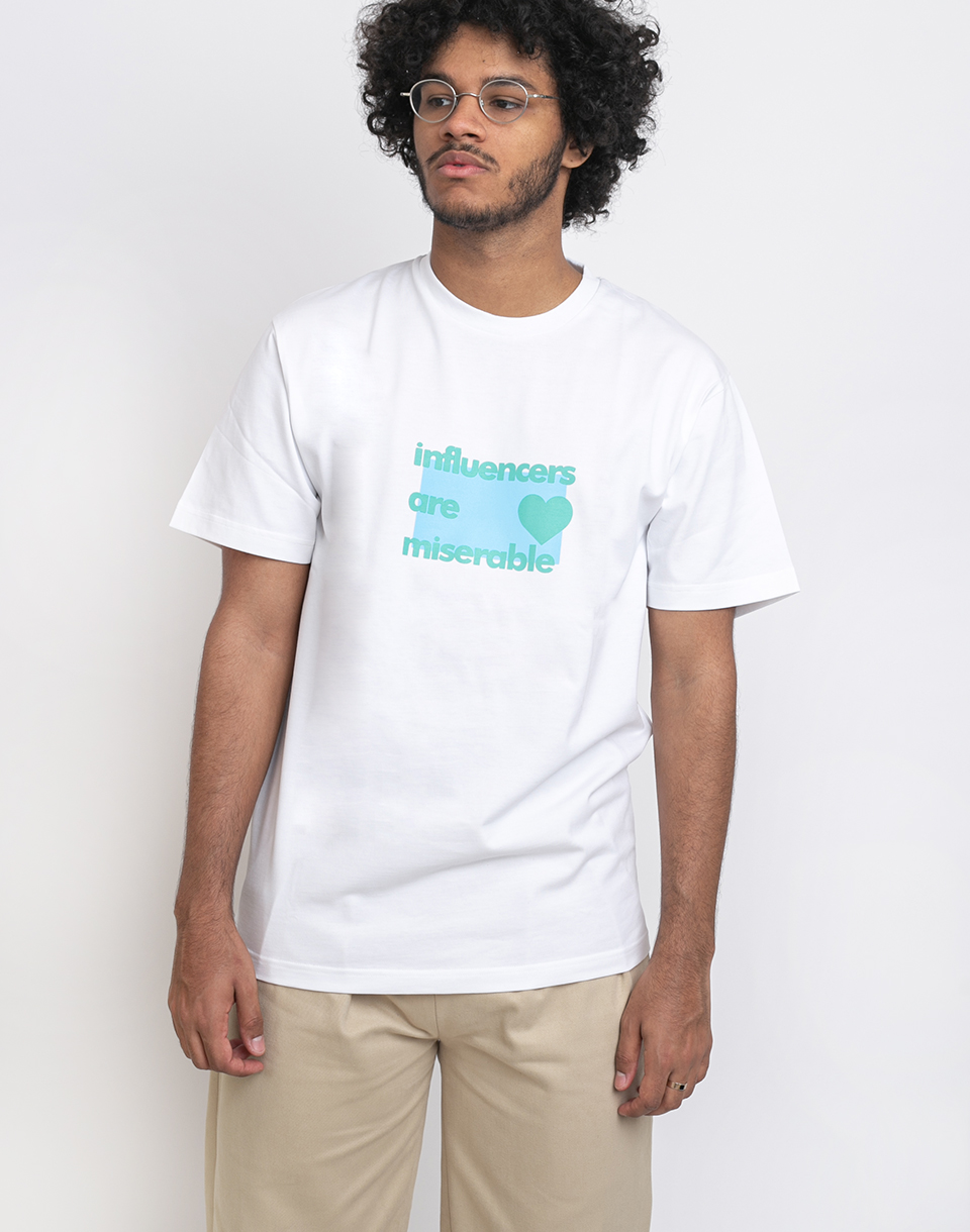 North Hill White Influencer Tee White XL