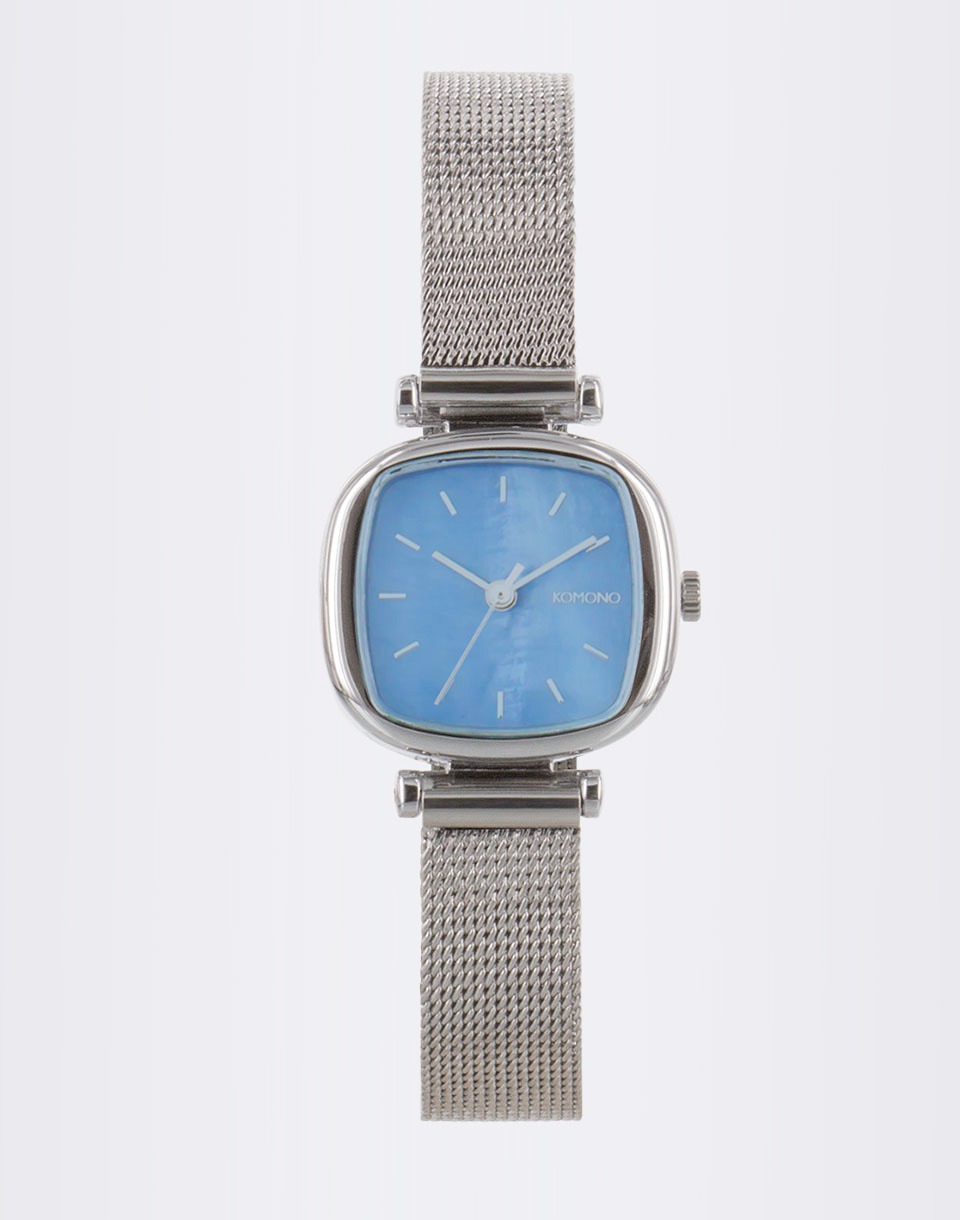Komono Moneypenny Royale Silver Light Blue