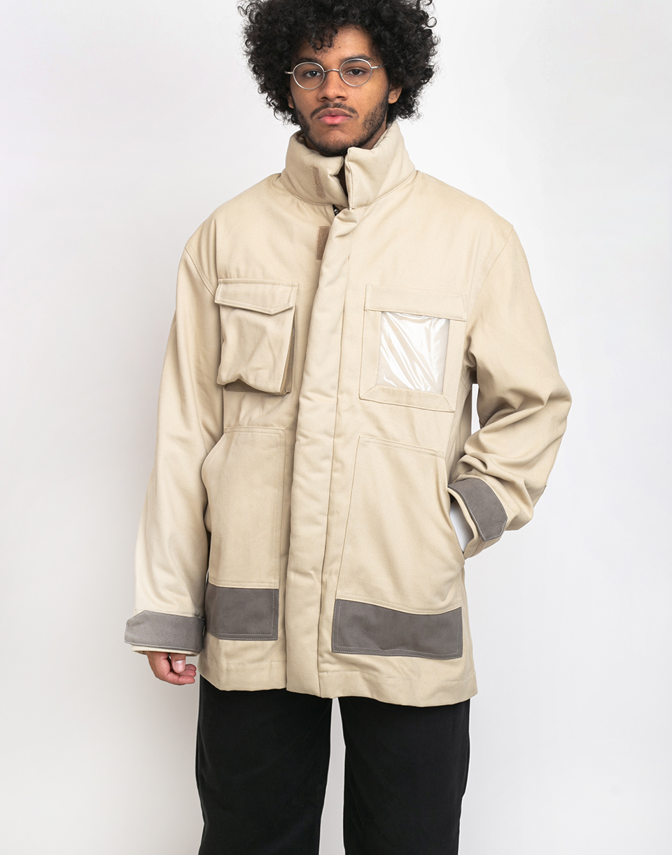 North Hill Military Parka Cream XL