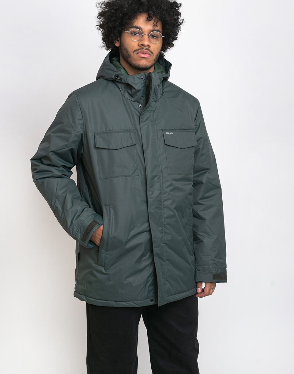 Makia Atlas Jacket Dark Green S