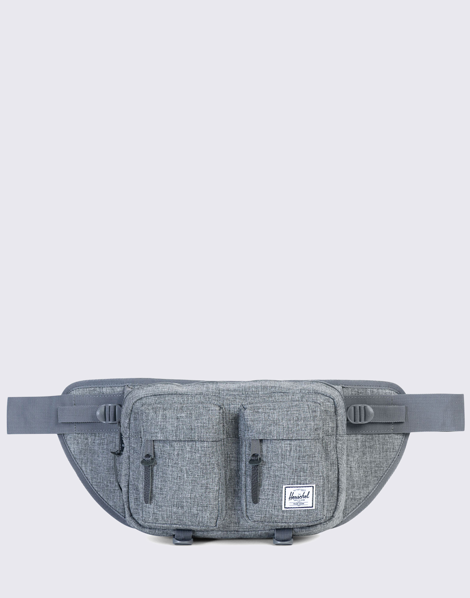 Herschel Supply Eighteen Raven Crosshatch