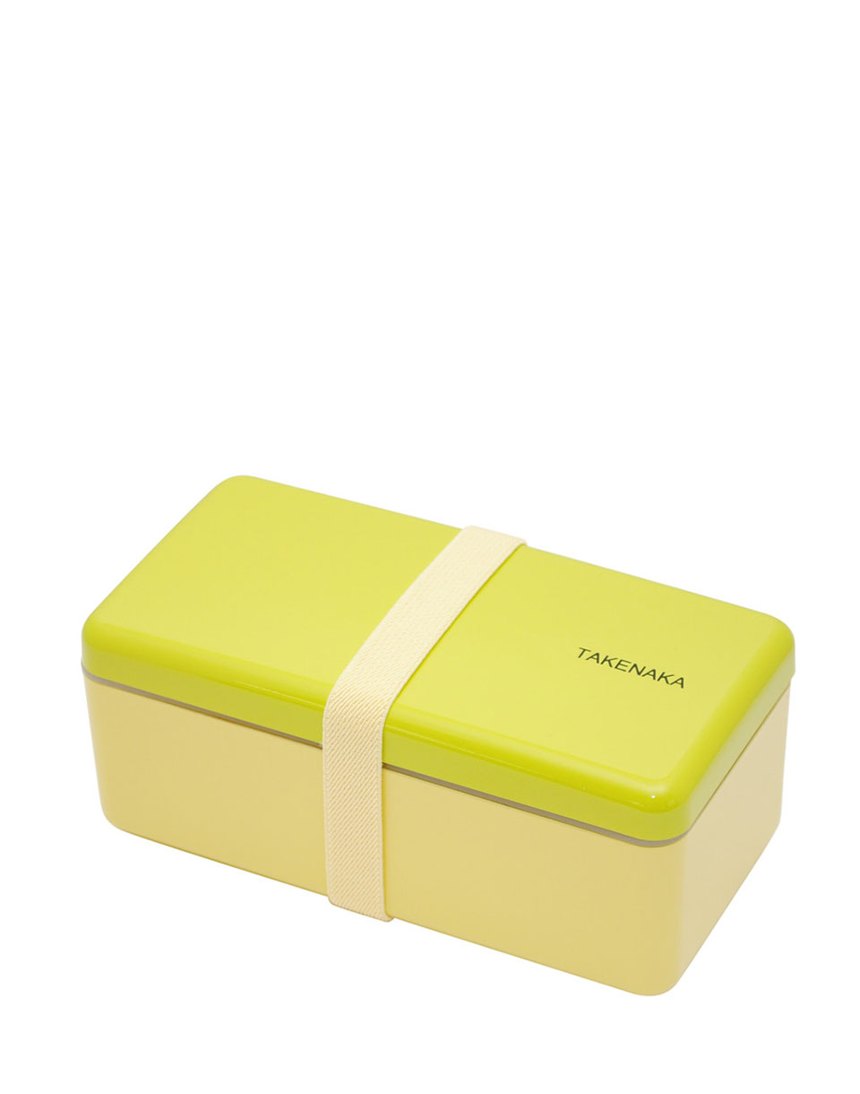 Takenaka Bento Box Ractangle Slim Green