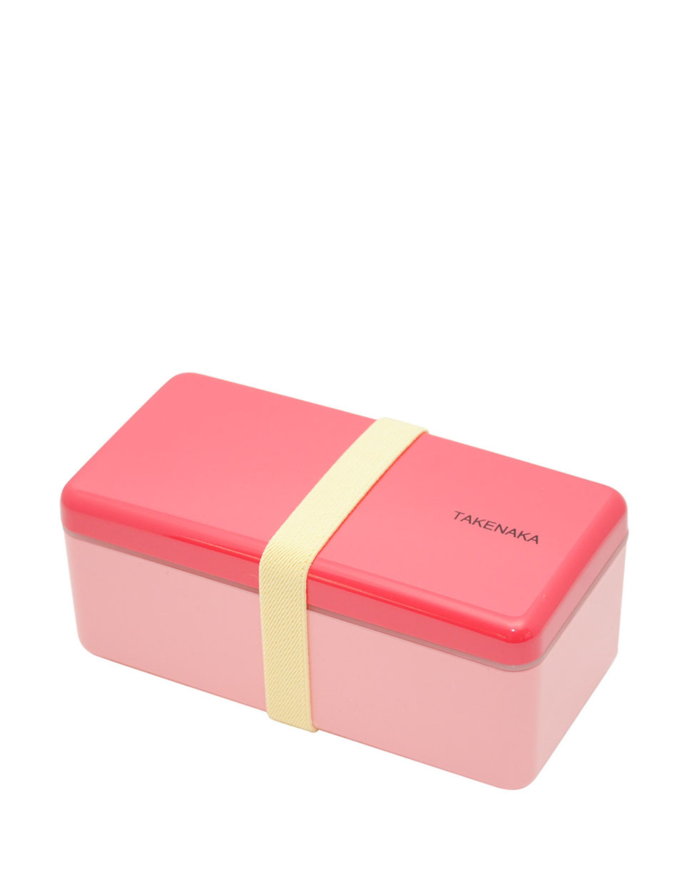 Takenaka Bento Box Ractangle Slim Rose