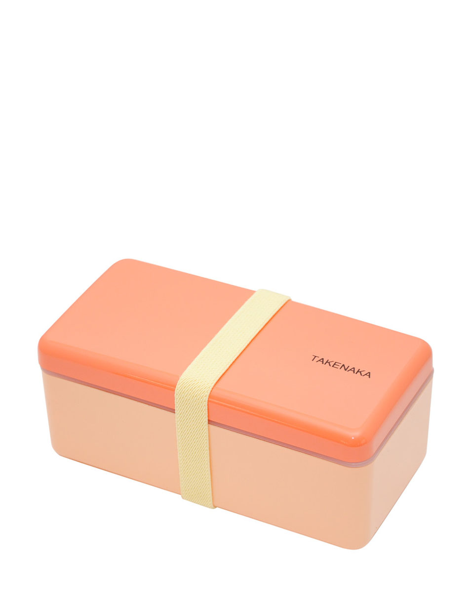 Takenaka Bento Box Ractangle Slim CORAL
