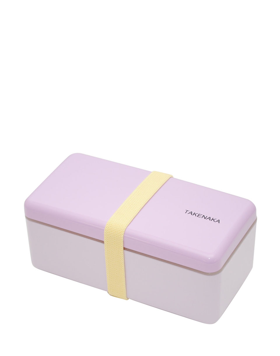 Takenaka Bento Box Ractangle Slim LAVENDER