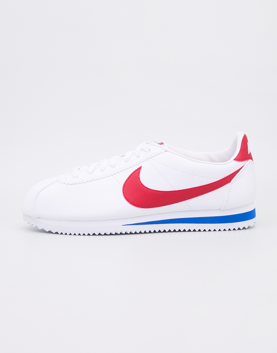 Nike Classic Cortez Leather White  Varsity Red  Varsity Royal 42 5