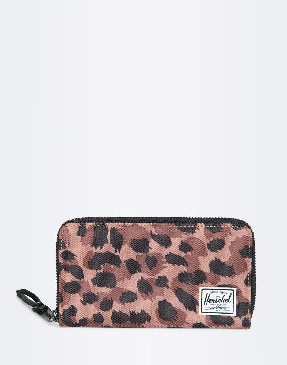 Peněženka Herschel Supply Thomas With Zipper leopard