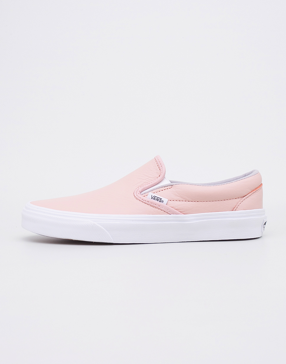 Vans Classic Slip On (Leather) Oxford Evening Sand 39