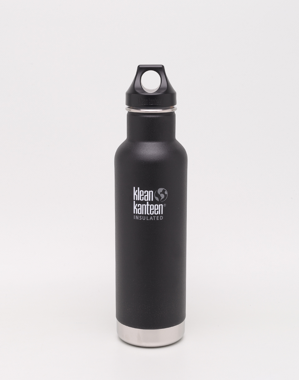 Klean Kanteen Insulated Classic 592 ml (w Loop Cap) Shale Black