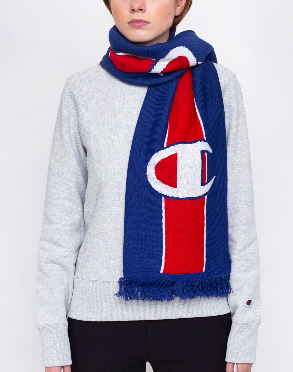 Champion Knitted Scarf BAI RED