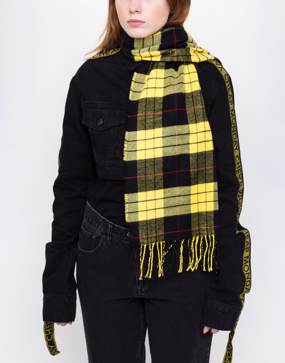Cheap Monday City Check Yellow