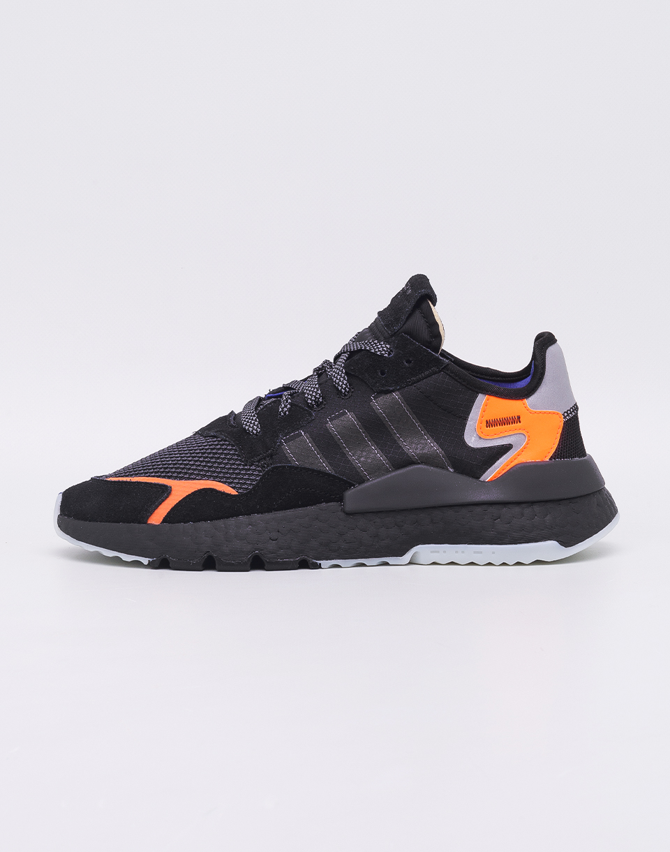 adidas Originals Nite Jogger Core Black/ Carbon/ Active Blue 41