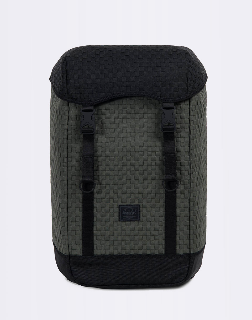 Herschel Supply Woven Iona Climbing Ivy Black