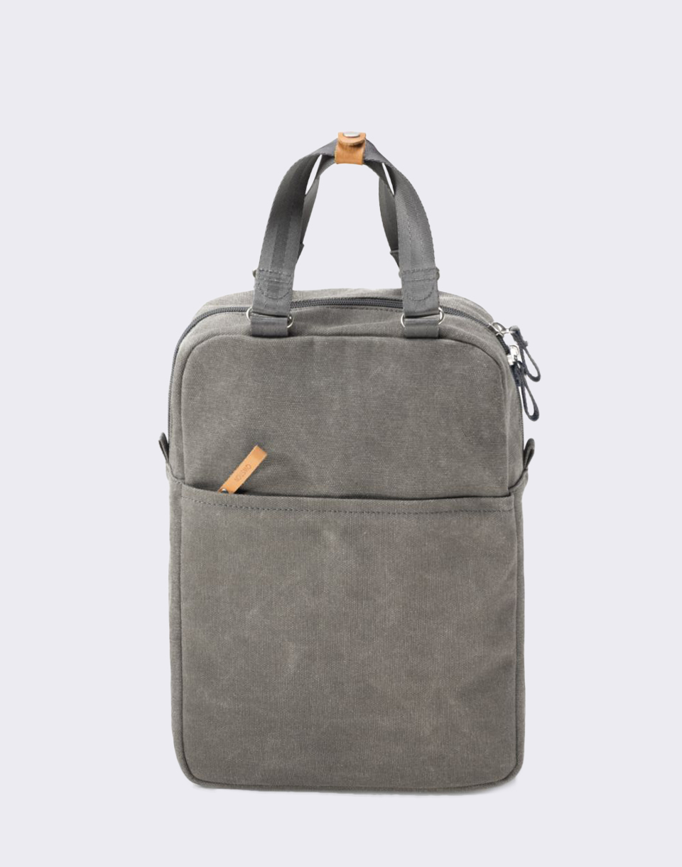 Qwstion Small Pack Organic Washed Grey