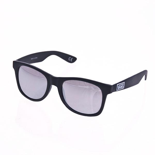 Sluneční brýle Vans MN SPICOLI 4 SHADES Matte Black/Sil Matte Black/Sil