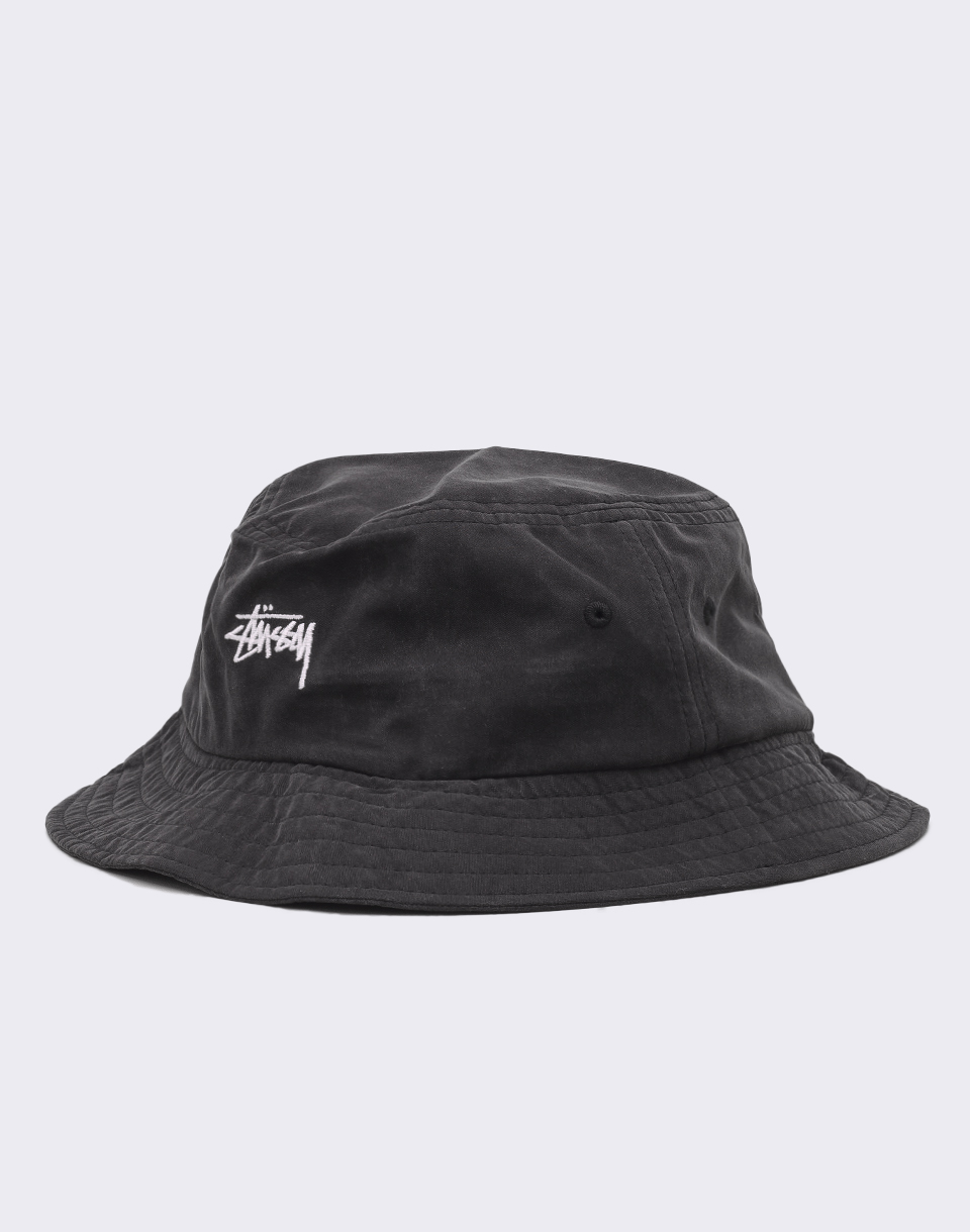 Stussy Stock Bucket Black L XL