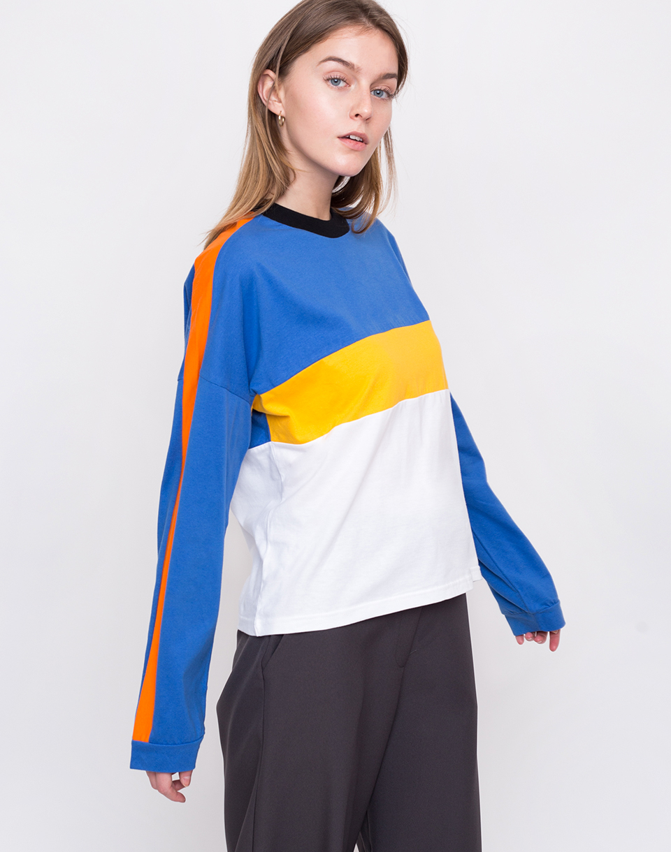 The Ragged Priest Punch White / Royal / Yellow M