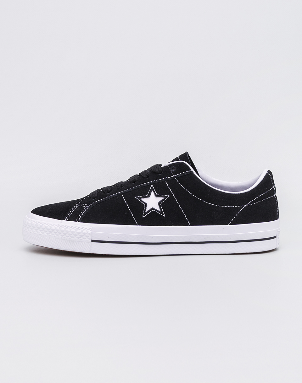 Converse One Star Pro (Refinement) Black White White 45