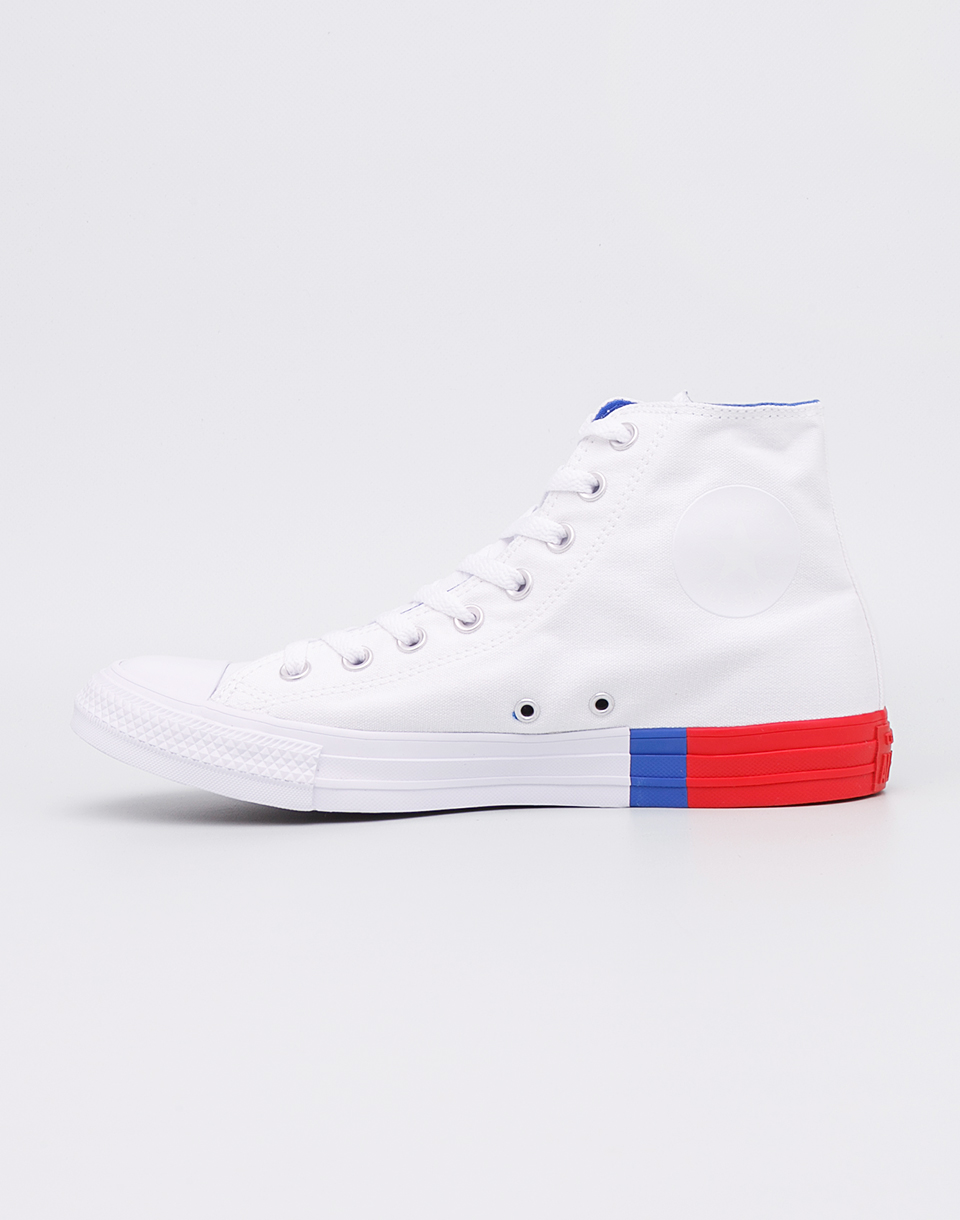 Converse Chuck Taylor All Star White Red Blue 43