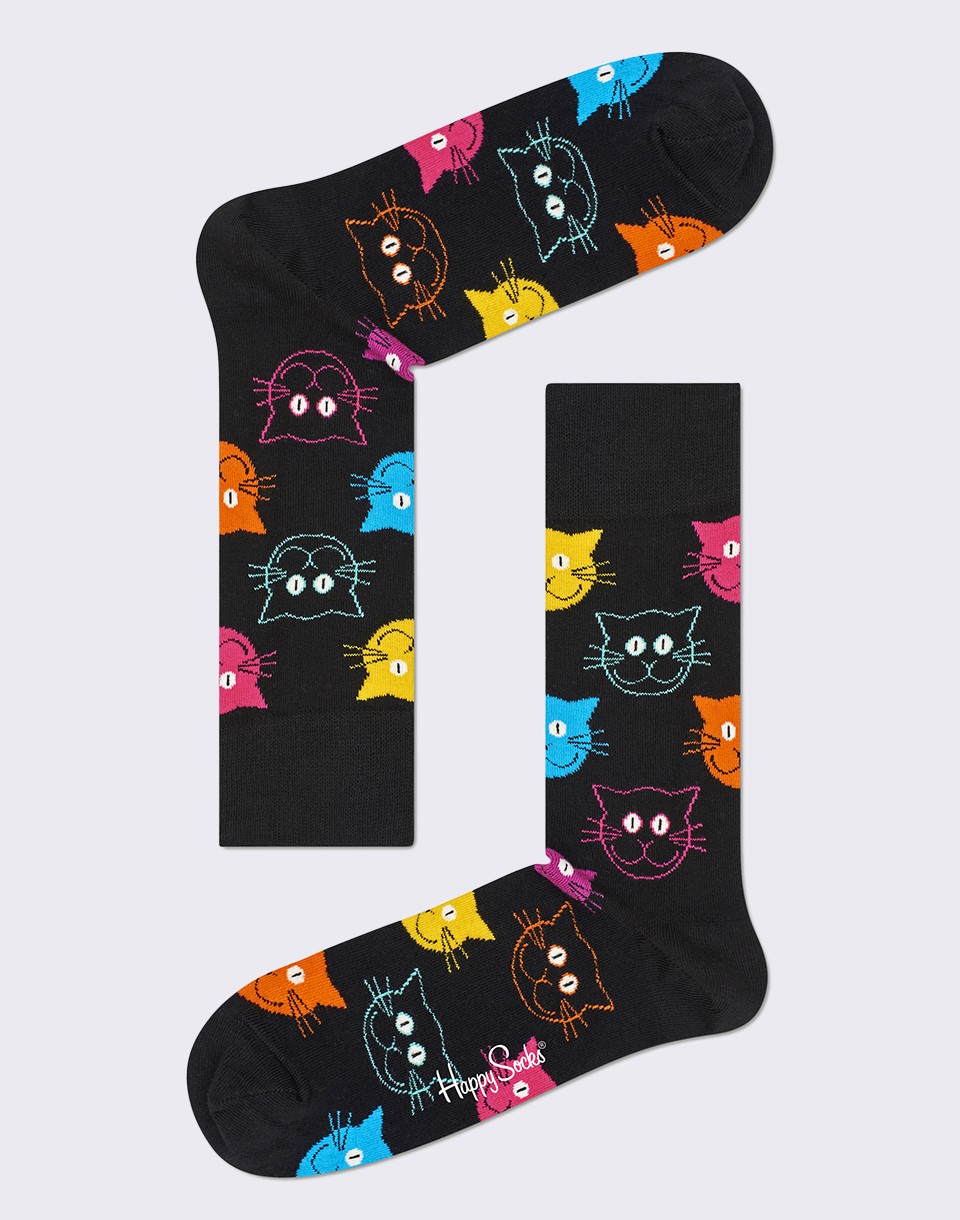 Happy Socks Cat MJA01 9001 36 40
