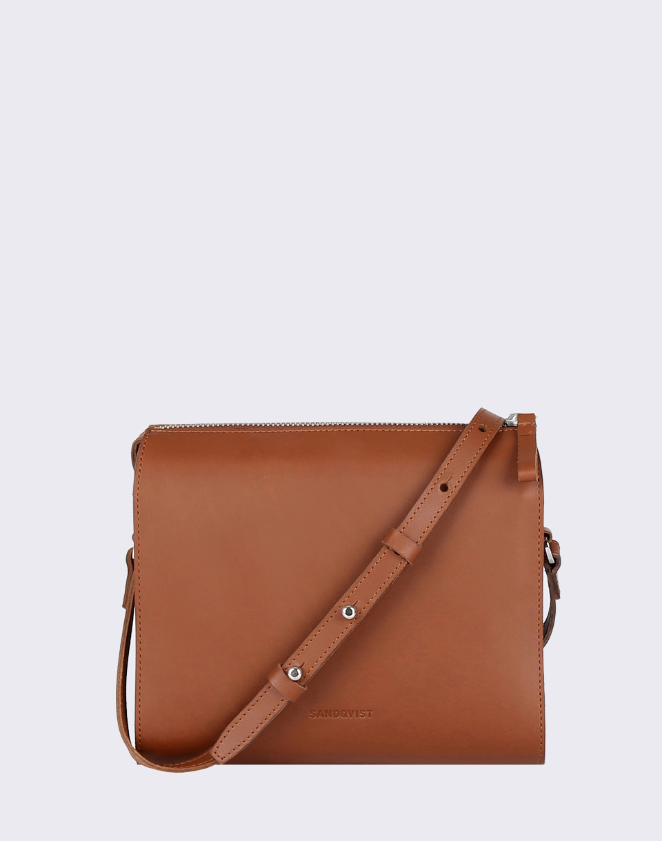 Sandqvist Frances Cognac Brown