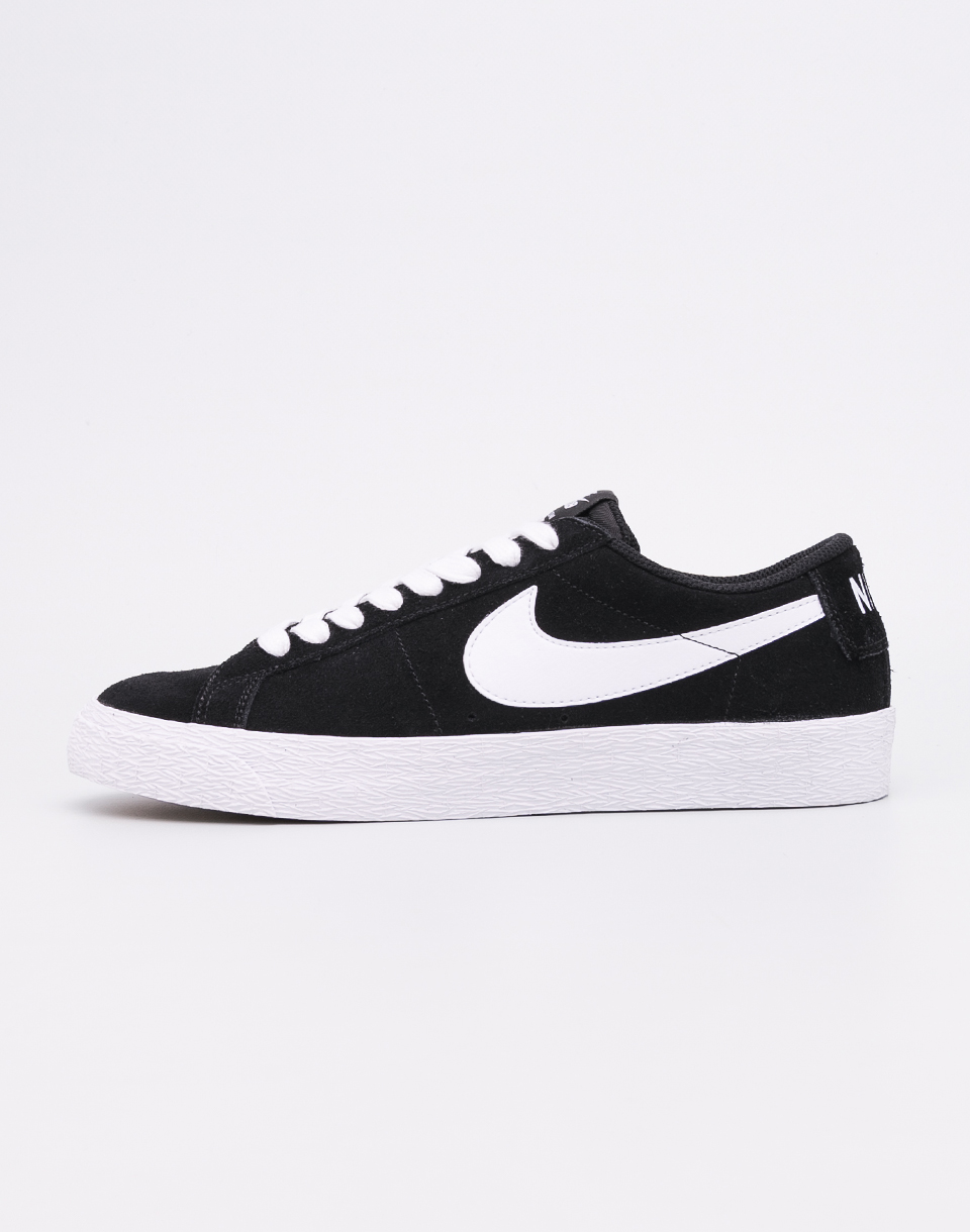 Nike SB Zoom Blazer Low Black  White - Gum Light Brown 41 fb5f280777
