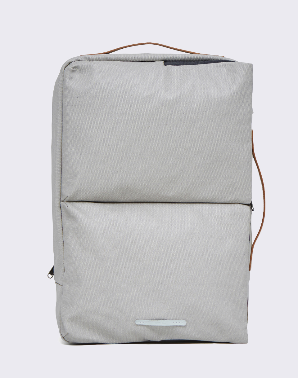 RAWROW 3 Way Bag 171 Rugged Canvas 15  Grey